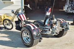 TRIKES, CHOPPERS, PHOTOS PICTURES of Chopper Trikes motorcycles