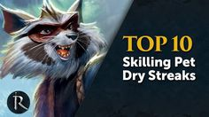 Welcome to a new video series which is all about stats and data!  Would you believe it? Skilling pets have just celebrated their first birthday! One year ago, these adorable companion were released in RuneScape and to celebrate we've put together a video to show you just how much...  https://www.crazytech.eu.org/top-10-skilling-pets-dry-streaks-runescape/