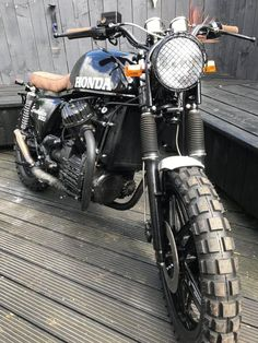 cx 500 scrambler bobber custom flat tracker | eBay