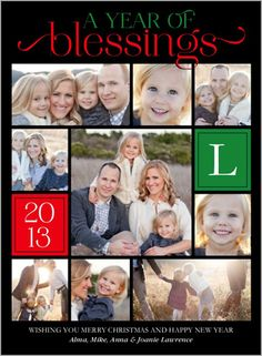 Year Of Blessings 6x8 Stationery Card by Petite Lemon | Shutterfly.com
