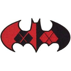 DC Comics Harley Quinn Logo Shield Embroidered Iron On Patch ($6.95) ❤ liked on Polyvore featuring home, kitchen & dining and kitchen gadgets & tools