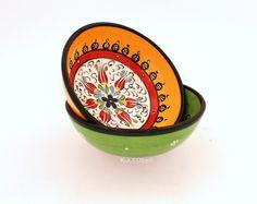 Keramikschale-Mediterran16cm-2erSet von Kult-Deko auf DaWanda.com