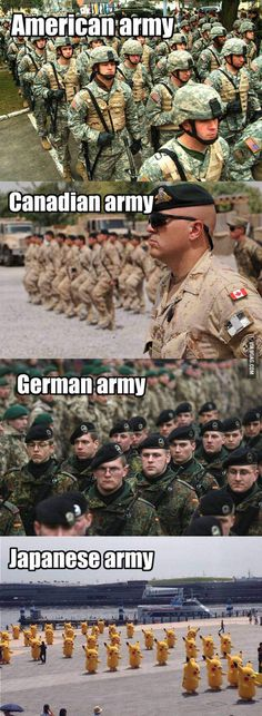 Fear The Japanese Army // tags: funny pictures - funny photos - funny images - funny pics - funny quotes - Funny Cute, The Funny, Hilarious, 9gag Funny, Anime Meme, Funny Images, Funny Pictures, Haha, Military Memes