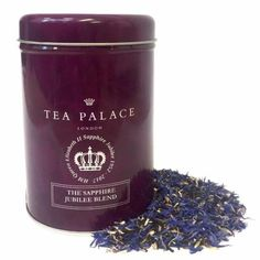 【TEA PALACE】 The Sapphire Jubilee Blend Loose Tea Caddy ティーパレス サファイヤジュビリー リーフティー125g缶