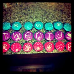 gonna have these for my birthday cupcakes :) red velvet with neon frosting mmm Adult Birthday Party, 20th Birthday, Birthday Love, Happy Birthday Me, Birthday Quotes, Birthday Ideas, Cute Cupcakes, Birthday Cupcakes, Gifts For Brother