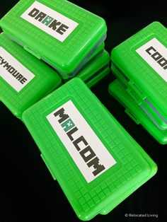 DIY Minecraft Party Favors