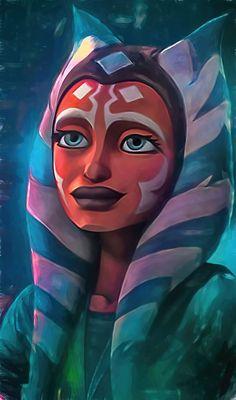 Star Wars Padme, Star Wars Fan Art, Clone Wars, Ashoka Star Wars, Star Wars Zeichnungen, Ahsoka Tano, Star Wars Drawings, Star Wars Books, War Comics