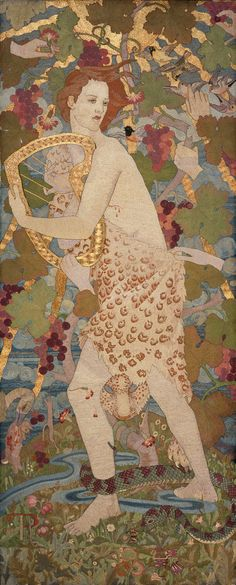 The Progress of a Soul: The Stress - Phoebe Anna Traquair - National Galleries of Scotland