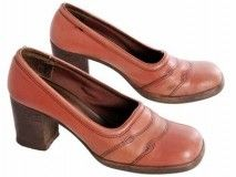 1970s - I had some shoes very similar to these.  I still love the chunky heels!