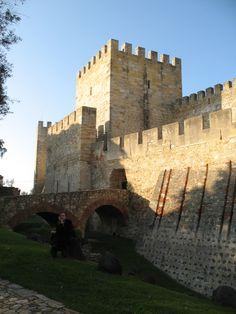 Castelo de São Jorge Fotografia de Fernanda Sant`Anna do Espirito Santo e Clóvis do Espirito Santo Jr.
