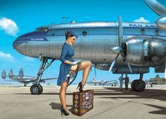 Pan Am - please ensure ALL safety belts are securely fastened!...