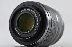 [Exc] Nikon 1 NIKKOR 30-110mm F3.8-5.6 VR Black Lens For Nikon 1 #Nikon