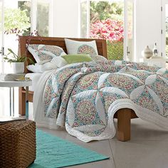 Cordova Quilt | The Company Store... This may be exactly what I am looking for.