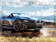 44 Gambar Mobil Chevrolet Camaro Modifikasi Gratis