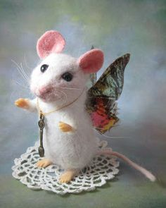 Needle Felted Art by Robin Joy Andreae: April 2012