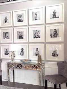 Stunning living room wall gallery design ideas 18 Large house, but how wide? My New Room, Home Decor Accessories, Home And Living, Small Living, Living Room Decor, Living Room Gallery Wall, Foyer Wall Decor, Picture Wall Living Room, Entryway Art
