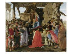 Adoration of the Magi (1475) by Sandro Botticelli