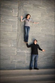 So cool! (at the bottom of staircase, lying on the ground.)