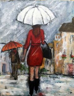 Buy A Brisk Walk, Acrylic painting by Suzette Datema on Artfinder. Discover…
