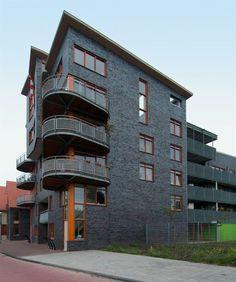 Appartementen Spaarnoogstraat langs het spoor