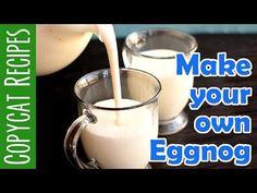 Homemade Eggnog Recipe and Video | Ashlee Marie