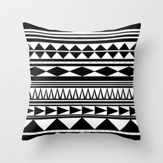 Tribal+#5+Throw+Pillow+by+Haleyivers+-+$20.00