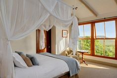 Guestroom at the Grootbos Private Nature Reserve, Gansbaai, South Africa