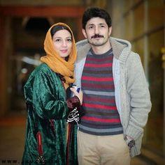 عکس مجتبی رجبی و همسرش حدیث میرامینی