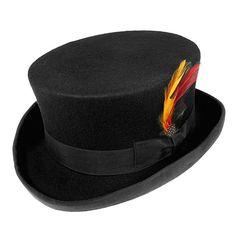 Jaxon & James Deadman Top Hat - Black - Men's style, accessories, mens fashion trends 2020 Goth Hat, Jaxon Hats, Piercings, Hat Stands, Hat Shop, Moda Emo, Dead Man, Short Tops, Brixton