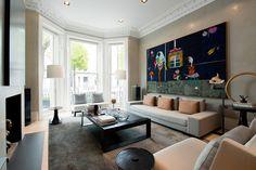 Современный интерьер в Лондоне | Пуфик - блог о дизайне интерьера
