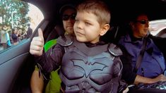 Do you have plans to see Batkid Begins? Twenty-five thousand people descend on San Francisco. Online, two billion others join in. They are all united to fulfill the wish of 5-year-old Miles Scott, who is recovering from #Leukemia. It is his dream to become #Batkid and save Gotham City.
