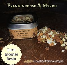 Frankincense and Myrrh pure resin loose by crowsnestprimitive