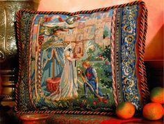 Glorafilia Lancelot & Guinevere Needlepoint Tapestry Kit GL6016