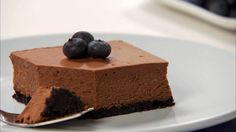 Philadelphia Double-Chocolate Cheesecake | For all the chocolate and cheesecake lovers out there, we've got you covered! This recipe is super simple to make and combines some of our favorite flavors, learn how to make it now!