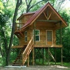Cottages On Stilts Bing Images Treehouse Cabins Tiny Treehouses House