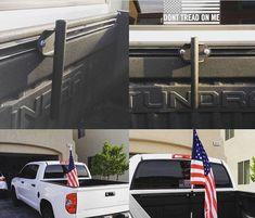 Toyota Tacoma Bedrail Flag Holder