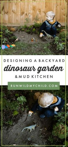 If you've ever considered creating a unique outdoor space for your kids, we've got all the info on how to design a backyard dinosaur garden and mud kitchen. Backyard Fort, Backyard For Kids, Mud Kitchen For Kids, Natural Play Spaces, Dinosaur Garden, Kids Play Spaces, Outdoor Play, Outdoor Spaces, Outdoor Ideas