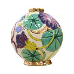 Boule Midi (Nancy) Ceramic Vase, Ceramic Pottery, Pottery Art, Mosaic Glass, Glass Art, Art Nouveau, China Painting, Objet D'art, Art Deco Design