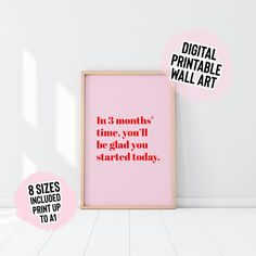 DIGITAL DOWNLOAD In Three Months' Time You'll Be   Etsy