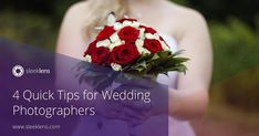Wedding Photography: 4 Quick Tips For Wedding Photographers #photography #weddingphotography https://sleeklens.com/4-quick-tips-wedding-photography/ #PhotographyForWeddings