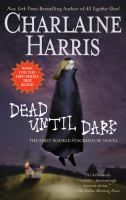 """""""Dead Until Dark"""" by Charlaine Harris (Southern Vampire Mysteries, Book 1) - Sookie Stackhouse is just a small-time cocktail waitress in small-town Louisiana, until the vampire of her dreams walks into her life. When one of her coworkers checks out, she decides that maybe having a vampire for a boyfriend isn't such a bright idea."""