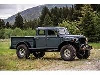 Vintage Trucks Classic 1952 Dodge Power Wagon Legacy Conversion for sale Pickup Trucks, Old Dodge Trucks, Jeep Truck, Dodge Cummins, Dually Trucks, Jeep Pickup, Jeep 4x4, Legacy Power Wagon, Power Wagon For Sale