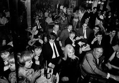 The Beatles at The Peppermint Lounge, NYC, February 1964.