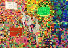 Liam Duggan, Digital Revolution, mixed media on canvas, 2014