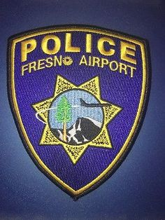 Fresno-Airport-Police-Patch-California