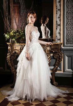 Vestido de novia Jor