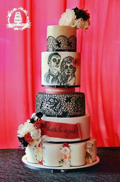 Til Death Do Us Part Cake