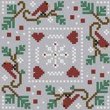 The Floss Box | Christmas Biscornu PDF Patterns