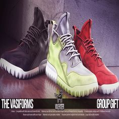 The Vasiforms Uni Group Gift Second Life Shoes. Shoes for men and women. They are compatible with slink male and female flat feet, Maitreya flats, and