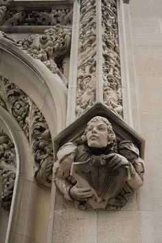 Architectural detailing at the Biltmore Estate in Asheville, NC